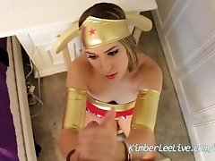 Kimber Lee Wonder Woman...