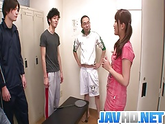 Sporty Girl Suzu Minamoto Gets...