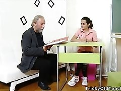 Tricky Old Teacher - Lora is a...