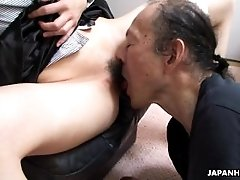 xhamster Old man is eating that wet hairy...