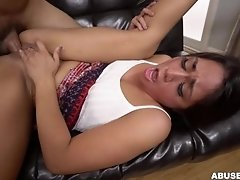 Rough anal sex for Lexy...