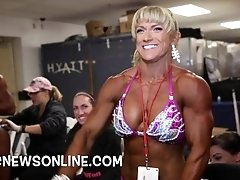2016 NPC Jr. Nationals Backstage...