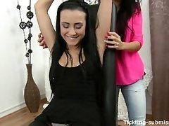 Tickled and tortured Anna Rose...