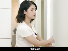 FILF - Her bisexual stepmom...