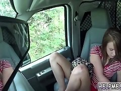 Skinny russian teen rough and...