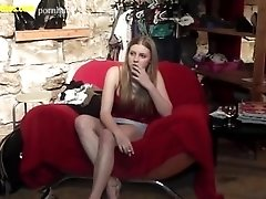 xhamster Blond and horny - the very first...