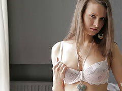 xhamster Hot Nika plays with herself