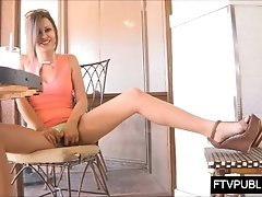 xhamster upskirt pussy in a busy cafe