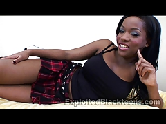 xhamster Cute College Black Girl takes it...