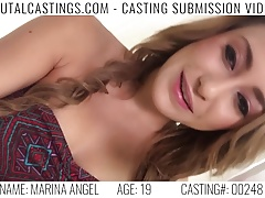 xhamster Sexy teen Marina Angel gets her...