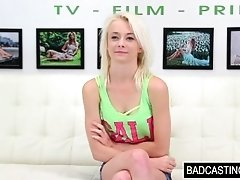 Blonde Teen Quinn Gets Convinced